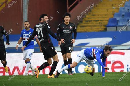 Editorial photo of Sampdoria vs Bologna, Italian football Serie A, Italy - 22 Nov 2020