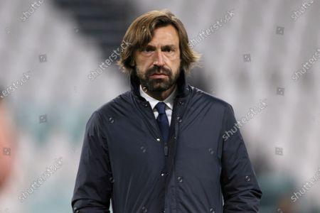 Andrea Pirlo (Coach Juventus FC) during Juventus FC vs Cagliari Calcio, Italian football Serie A match in turin, Italy, November 21 2020