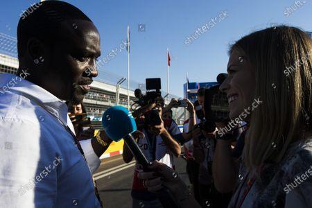 2016/2017 FIA Formula E Championship. Marrakesh ePrix, Circuit International Automobile Moulay El Hassan, Marrakesh, Morocco. Aliaume Damala Badara Akon Thiam, aka Akon Saturday 12 November 2016. Photo: Sam Bloxham/LAT/Formula E