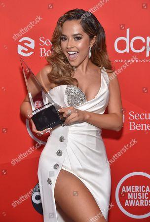 Editorial image of American Music Awards, Press Room, Los Angeles, California, USA - 22 Nov 2020