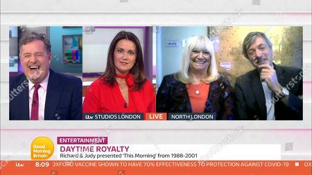Piers Morgan, Susanna Reid, Richard Madeley and Judy Finnigan