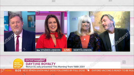 Editorial picture of 'Good Morning Britain' TV Show, London, UK - 23 Nov 2020