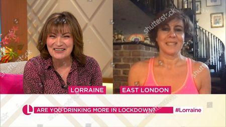 Lorraine Kelly and Maxine Jones