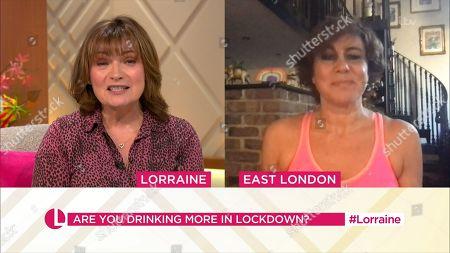 Editorial image of 'Lorraine' TV Show, London, UK - 23 Nov 2020