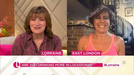 Stock Image of Lorraine Kelly and Maxine Jones