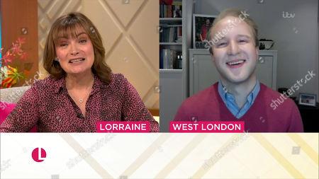 Lorraine Kelly and William Hanson