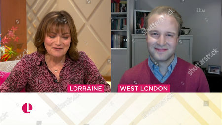 Stock Picture of Lorraine Kelly and William Hanson