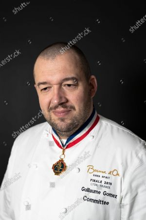 Stock Picture of French chef Guillaume Gomez, head chef at France's Elysee palace, poses for photographs in Paris, France, 19 November 2020 (issued 23 November 2020). Gomez has released a new book on 19 November 2020, entitled 'A la Table des Presidents' (lit.: At the Table of the Presidents), with a preface by French presidents Sarkozy, Hollande and Macron.