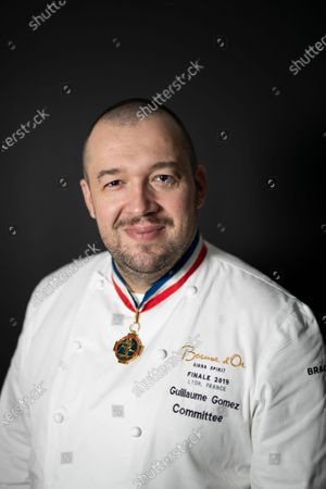 Stock Photo of French chef Guillaume Gomez, head chef at France's Elysee palace, poses for photographs in Paris, France, 19 November 2020 (issued 23 November 2020). Gomez has released a new book on 19 November 2020, entitled 'A la Table des Presidents' (lit.: At the Table of the Presidents), with a preface by French presidents Sarkozy, Hollande and Macron.