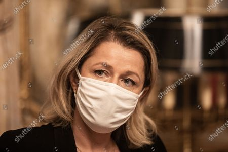 Stock Picture of French politician Barbara Pompili