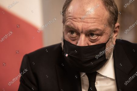 Stock Photo of French politician and lawyer Eric DuPont Moreti