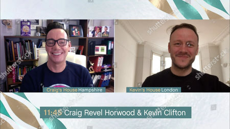 Stock Picture of Craig Revel Horwood and Kevin Clifton
