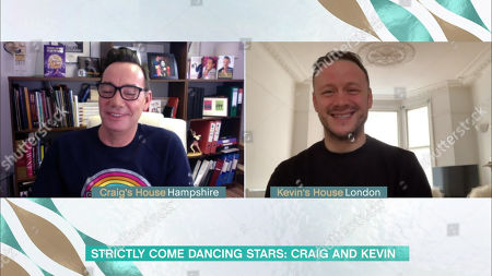 Craig Revel Horwood and Kevin Clifton