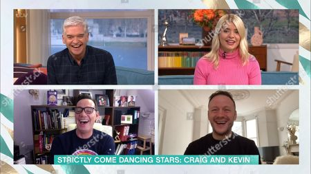 Phillip Schofield, Holly Willoughby, Craig Revel Horwood and Kevin Clifton