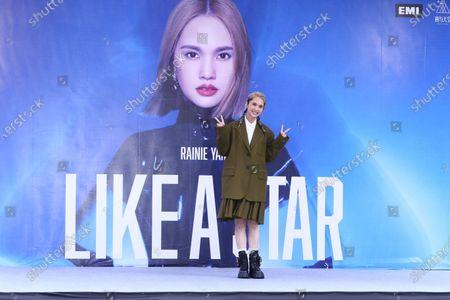 Editorial image of 'Like a Star' new album photocall, Taipei, Taiwan, China - 22 Nov 2020