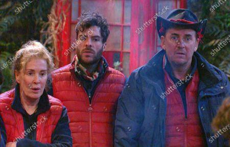 Post-Trial - Beverley Callard, Jordan North and Shane Richie