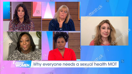 Andrea McLean, Linda Robson, Judi Love, Brenda Edwards and Dr Catherine Millington-Sanders