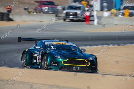 Stock Image of 7-9 October, 2016, Monterey, California USA Jose De la Torre, Lars Viljoen, #4 Aston Martin ?2016, Halston Pitman LAT Photo USA