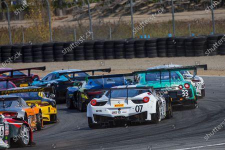 Editorial photo of Ferrari, Round 11 - Laguna Seca, California, Mazda Raceway Laguna Seca, United States of America - 09 Oct 2016