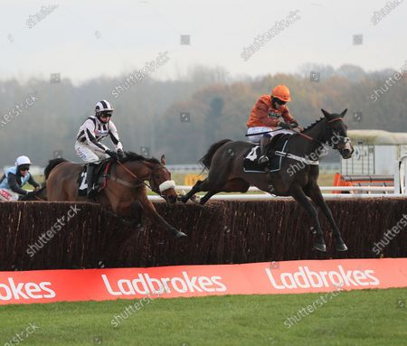 No 4 Elusive Belle -Sam Waley-Cohen wins from Eritage - Harry CobdenThe Ladbrokes Daily Odds Boosts Chase (Novices' Limited Handicap Chase) (Fulke Walwyn Trophy) Newbury 27.11.20Supplied by Hugh Routledge.