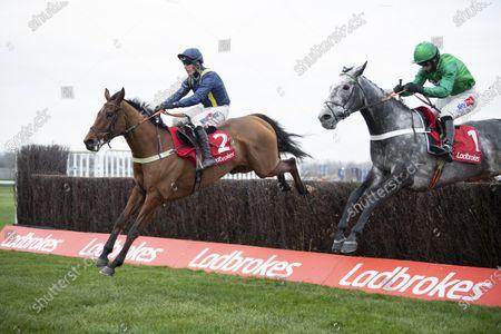 Editorial image of Horse Racing from Newbury Racecourse, UK - 27 Nov 2020