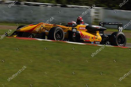 2016 Japanese Formula 3 Championship. Sugo, Japan. 24th - 25th September 2016. Rd 15, 16 & 17. Rd.17 2nd position Jann Mardenborough ( #22 B-MAX NDDP F3 ) action World Copyright : Yasushi Ishihara/LAT Photographic Ref : 2016JF3_Rd15_17SUGO_030
