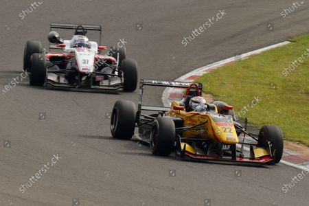 2016 Japanese Formula 3 Championship. Sugo, Japan. 24th - 25th September 2016. Rd 15, 16 & 17. Rd.16 2nd position Jann Mardenborough ( #22 B-MAX NDDP F3 ) action World Copyright : Yasushi Ishihara/LAT Photographic Ref : 2016JF3_Rd15_17SUGO_021