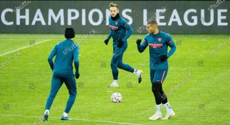 Editorial picture of Sevilla FC training, Krasnodar, Russian Federation - 23 Nov 2020