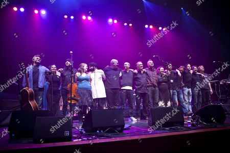 Editorial picture of 'Imagined Village' in concert at Queen Elizabeth's Hall, London, Britain - 31 Jan 2010