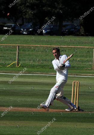 2016 Goodwood Revival Goodwood Estate, West Sussex,England 9th - 11th September 2016 Cricket Match Stuart Graham World Copyright : Jeff Bloxham/LAT Photographic Ref : Digital Image