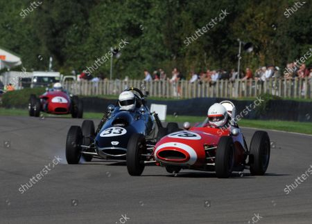 Stock Image of 2016 Goodwood Revival Goodwood Estate, West Sussex,England 9th - 11th September 2016 Chichester Cup Andrew Hibberd Lola Chris Drake Terrier World Copyright : Jeff Bloxham/LAT Photographic Ref : Digital Image