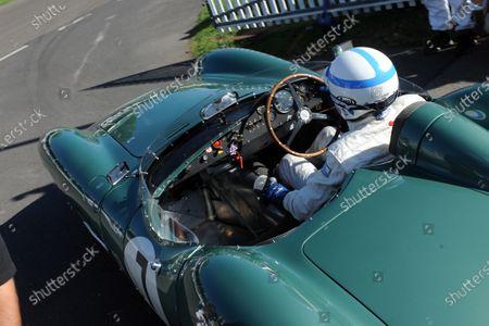 2016 Goodwood Revival Goodwood Estate, West Sussex,England 9th - 11th September 2016 Jack Brabham Tribute Parade  John Surtees. World Copyright : Jeff Bloxham/LAT Photographic Ref : Digital Image