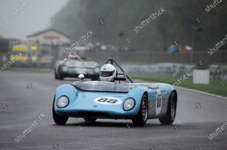 Stock Photo of 2016 Goodwood Revival Goodwood Estate, West Sussex,England 9th - 11th September 2016 Madgwick Trophy Richard Perry Merlyn Mk4A World Copyright : Jeff Bloxham/LAT Photographic Ref : Digital Image