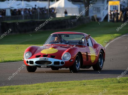 2016 Goodwood Revival Goodwood Estate, West Sussex,England 9th - 11th September 2016 Race 1 Kinrara Trophy Lord March Sir Stirling Moss World Copyright : Jeff Bloxham/LAT Photographic Ref : Digital Image