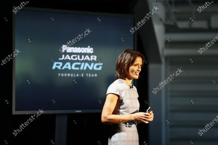 Jaguar Racing Official Formula E Launch Jaguar Heritage Collections Centre, Gaydon, UK Thursday 8 September 2016 Amanda Stretton. World Copyright: Steven Tee/LAT Photographic