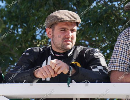 2016 Goodwood Revival Meeting  Goodwood Estate, West Sussex, England. 9th - 11th September 2016.  Michael Dunlop, multiple Isle of Man TT winner on his first visit to Goodwood.  Ref: DSC00235a. World copyright: Kevin Wood/LAT Photographic