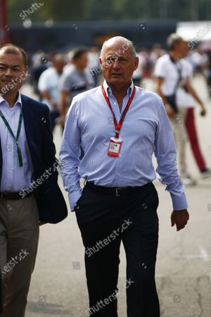 Autodromo Nazionale di Monza, Italy. Sunday 04 September 2016. Ron Dennis, Executive Chairman, McLaren Automotive. World Copyright: Andy Hone/LAT Photographic