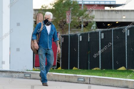 Dale Watson arrives to perform at the Songs I Left Behind, a Tribute to Billy Joe Shaver, a Long Live Music event on the lawn at the Long Center