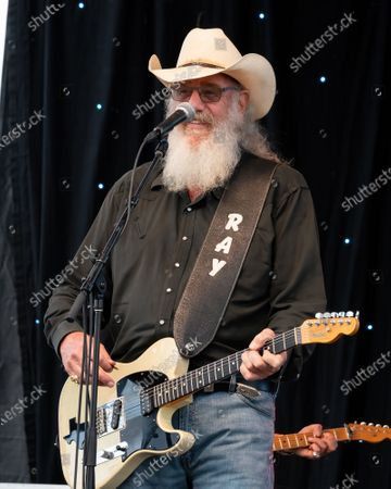 Ray Benson performs during the Songs I Left Behind, a Tribute to Billy Joe Shaver, a Long Live Music event on the lawn at the Long Center