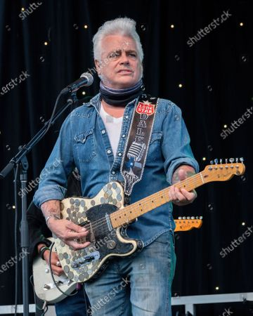 Dale Watson performs at the Songs I Left Behind, a Tribute to Billy Joe Shaver, a Long Live Music event on the lawn at the Long Center