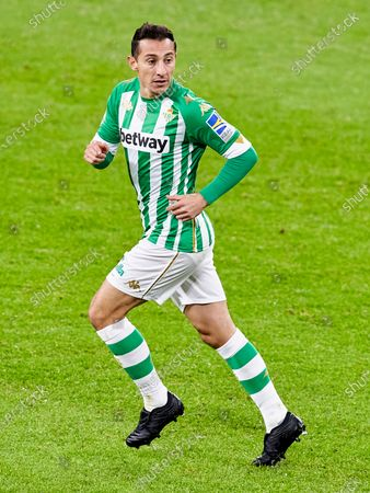 Andres Guardado of Real Betis