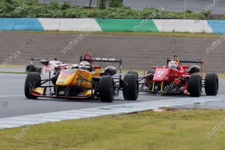 2016 Japanese Formula 3 Championship. Motegi, Japan. 20th - 21st August 2016. Rd 11 & 12. Round 11 Winner Jann Mardenborough ( #22 B-MAX NDDP F3 ) action World Copyright : Yasushi Ishihara/LAT Photographic Ref : 2016JF3_R11&12_004