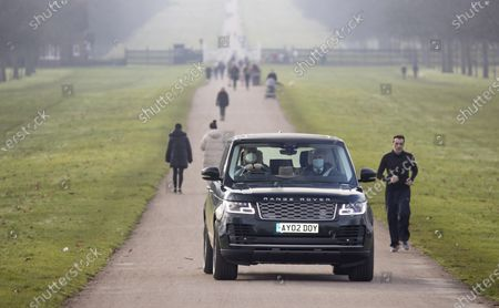 Editorial photo of Prince Andrew arrives at Windsor Castle, UK - 23 Nov 2020