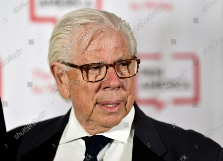 Journalist Carl Bernstein attends the 2018 PEN Literary Gala in New York on . Bernstein took to Twitter to specifically 'out' 21 Republican senators that he says have privately expressed contempt for President Donald Trump. It was an unusual form of reporting for Bernstein, who with former partner Bob Woodward broke stories that led to the resignation of former President Richard Nixon