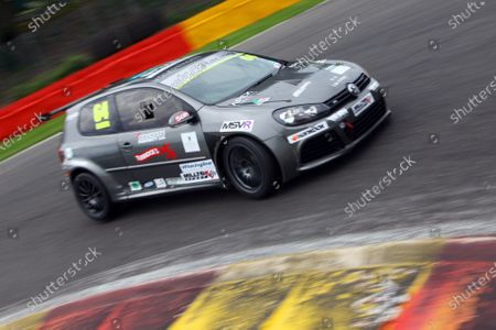 2016 Volkswagen Racing Cup, Spa-Francorchamps, Belgium. 7th - 9th July 2016. Andy Griffith (GBR). World Copyright: Ebrey / LAT Photographic.