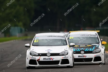 Stock Picture of 2016 Volkswagen Racing Cup, Spa-Francorchamps, Belgium. 7th - 9th July 2016. Phil Morris (GBR). World Copyright: Ebrey / LAT Photographic.