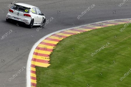 Stock Photo of 2016 Volkswagen Racing Cup, Spa-Francorchamps, Belgium. 7th - 9th July 2016. Phil Morris (GBR). World Copyright: Ebrey / LAT Photographic.
