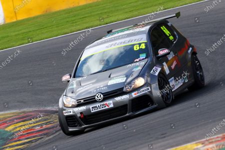 Stock Photo of 2016 Volkswagen Racing Cup, Spa-Francorchamps, Belgium. 7th - 9th July 2016. Andy Griffith (GBR). World Copyright: Ebrey / LAT Photographic.