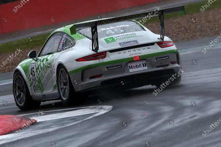 Porsche Supercup, Silverstone, Northamptonshire, UK 8th-10th July 2016. Mark Radcliffe (GBR)  World Copyright: Jakob Ebrey/LAT Photographic