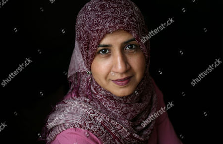 Editorial picture of Shelina Janmohamed at home in Pinner, London, Britain - 24 Dec 2009
